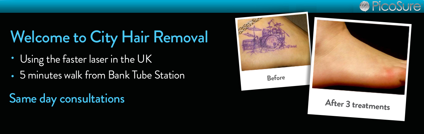 Welcome to City Tattoo Removal